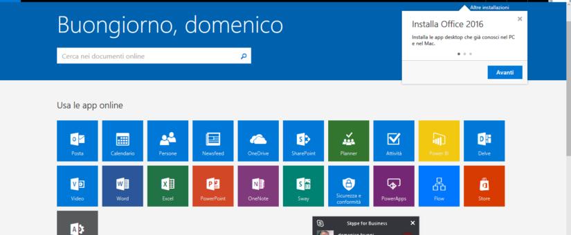 Conosci tutte le app in Office 365?
